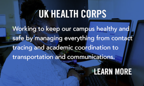 Learn more about the UK Heatlh Corp team.