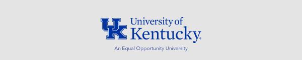 University of Kentucky Footer